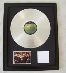 Platina plaat The Beatles - The white album