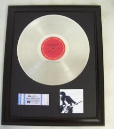 Platina plaat Bruce Springsteen Born to run