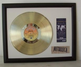 Gouden Plaat Metallica - The $5,98 EP - Garage Days Re-Visited