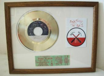 Gouden plaat Pink Floyd - The Wall