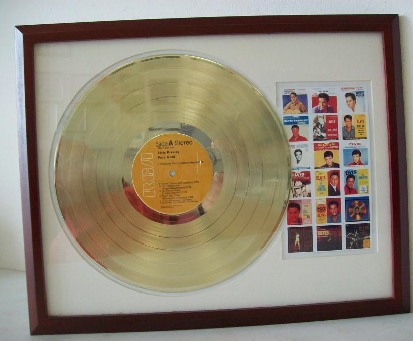 Elvis Pure Gold LP