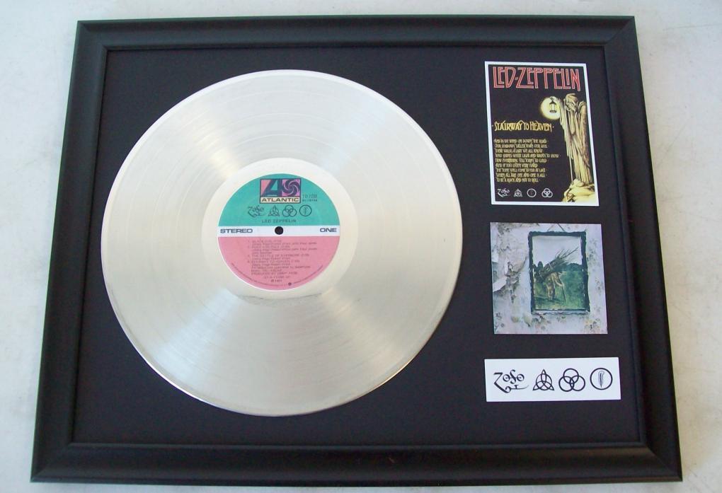 plaat Led Zeppelin ZoSO - Platina platen - Moderne kunst, Design ...
