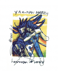 Herman Brood litho Bob Marley - Yaah man
